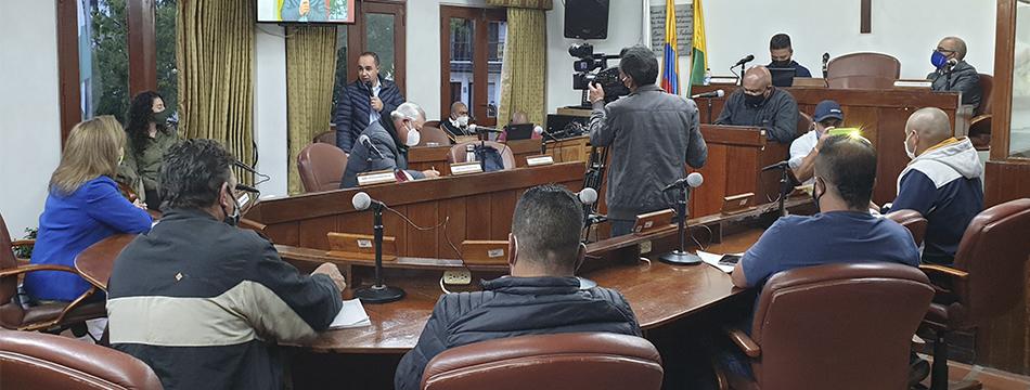 Alcalde municipal citó al Concejo a sesiones extraordinarias