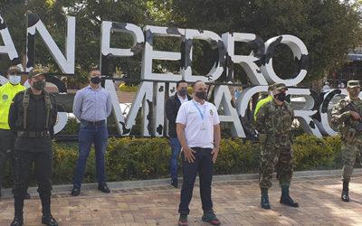 Incremento de fuerza pública y fortalecimiento de la denuncia, estrategias para mejorar la seguridad en San Pedro