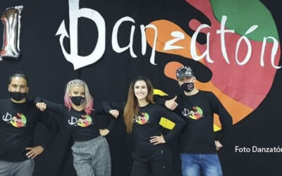 Con la participación de 40 artistas durante 11 horas de transmisión, se llevó a cabo la Danzatón