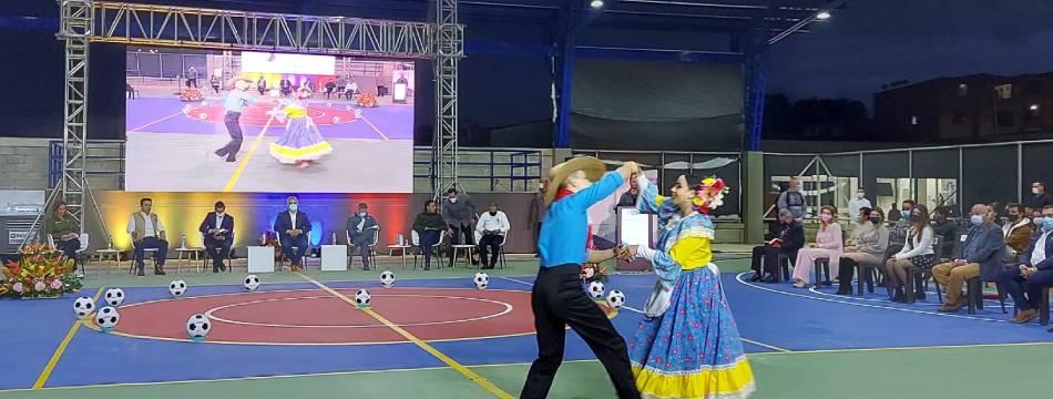 El presidente Iván Duque inauguró el Centro de Integración Ciudadana Sacúdete de San Pedro
