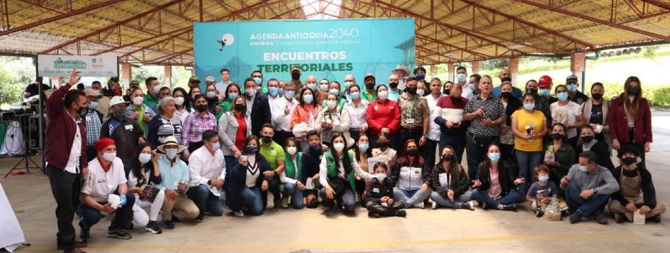 En Santa Rosa de Osos se dieron cita comunidades de las zonas Río Cauca, Río Grande y Chico